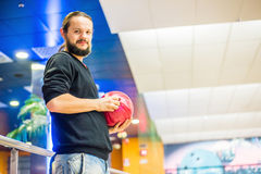 Time to bowl Royalty Free Stock Photo
