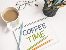 Time to Break, Coffee Time stock photos