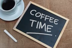 Time to Break, Coffee Time royalty free stock image