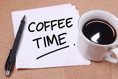Time to Break, Coffee Time royalty free stock photo
