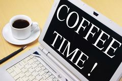 Time to Break, Coffee Time royalty free stock photos