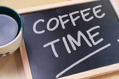 Time to Break, Coffee Time stock photography
