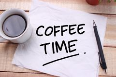 Time to Break, Coffee Time stock images