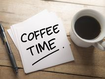 Time to Break, Coffee Time royalty free stock images