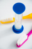 Time to brush your teeth Stock Photos