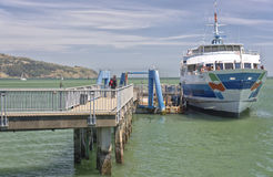 Time to catch a ferry to San Francisco. Royalty Free Stock Images