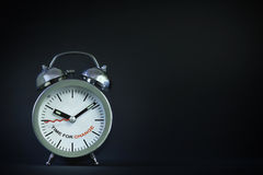 Time to change words Royalty Free Stock Photography