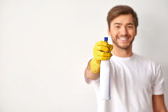 Time to clean up. Royalty Free Stock Photo