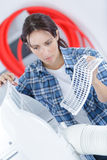 Time to cleaning and washing maintenance Royalty Free Stock Photos