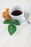 Time to coffee break!. Lovely home concept, coffee break Stock Photo