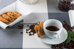 Time to coffee break!. Lovely home concept, coffee break Royalty Free Stock Images