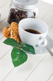 Time to coffee break!. Lovely home concept, coffee break Stock Photography