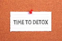 Time To Detox Stock Image