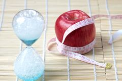 Time to Diet Royalty Free Stock Images