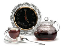 Time to drink tea Royalty Free Stock Photo