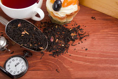 Time to drink tea Royalty Free Stock Images
