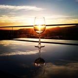 Time to enjoy the wine Stock Photo