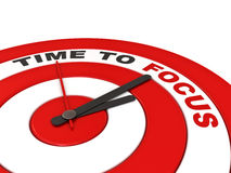 Time To Focus concept Royalty Free Stock Photos