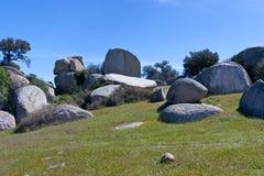 Time to gather stones. Royalty Free Stock Photo