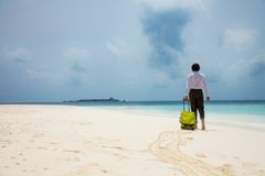 Time to go the beach Royalty Free Stock Images