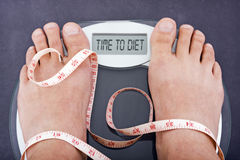 Time to go on a diet Royalty Free Stock Photography