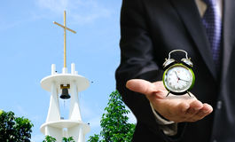 Time to go to church Royalty Free Stock Image