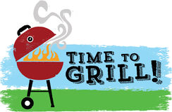 Time to Grill Royalty Free Stock Images