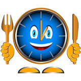 Time to have dinner Stock Photo