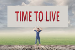 Time to Live Images stock