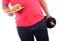 Time to lose weight Stock Photo