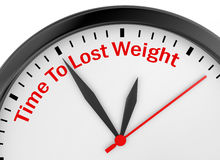 Time to lose weight Royalty Free Stock Photo