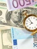 Time to make money. Royalty Free Stock Photos