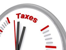 Time to pay taxes  Royalty Free Stock Photo