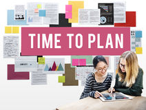 Time To Plan Organizer Date Management Concept Royalty Free Stock Images