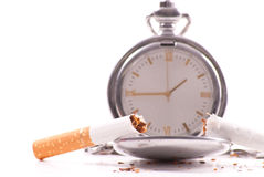 Time to Quit. The Habit Concept Image Royalty Free Stock Photography