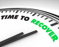 Time to Recover - Clock Stock Photo