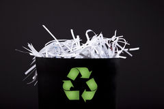 Time to recycle! Stock Image