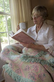 Time to relax. Close in shot of a senior woman relaxing Royalty Free Stock Photo