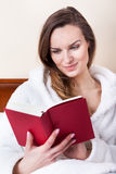 Time to relax with book Stock Photo