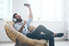 Time to relax. Royalty Free Stock Image