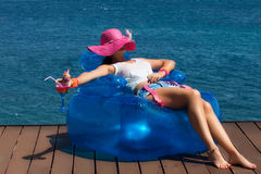 Time to Relax. Summer Vacation Royalty Free Stock Images