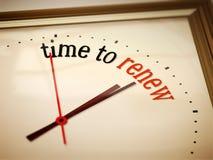 Free Time To Renew Stock Photo - 39018680