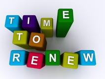 Free Time To Renew Stock Photo - 68842780