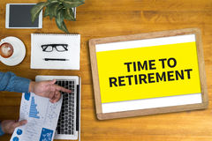 TIME TO RETIREMENT Royalty Free Stock Photo
