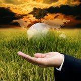 Time to save the environment concept Stock Photos