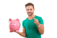 Time to save for retirement ! Stock Image