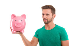 Time to save for retirement ! Royalty Free Stock Image