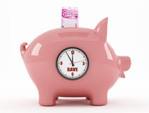 Time to savings Stock Image