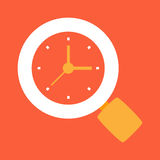 Time to search, search time Royalty Free Stock Image