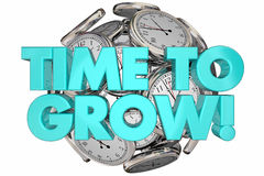 Time to Sell Clocks Sales Make Money Words 3d Animation Royalty Free Stock Image